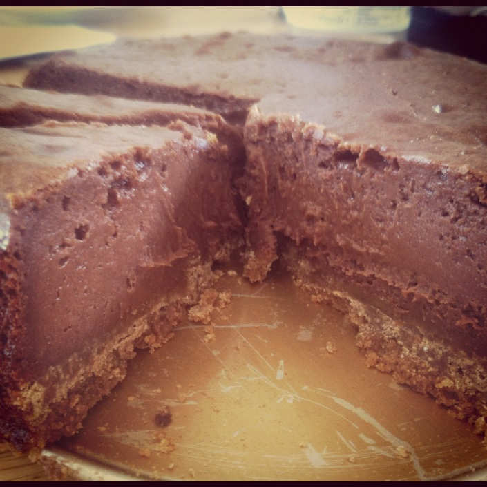 Cadbury's Chocolate Philadelphia Baked Cheesecake